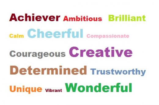 words to describe dating