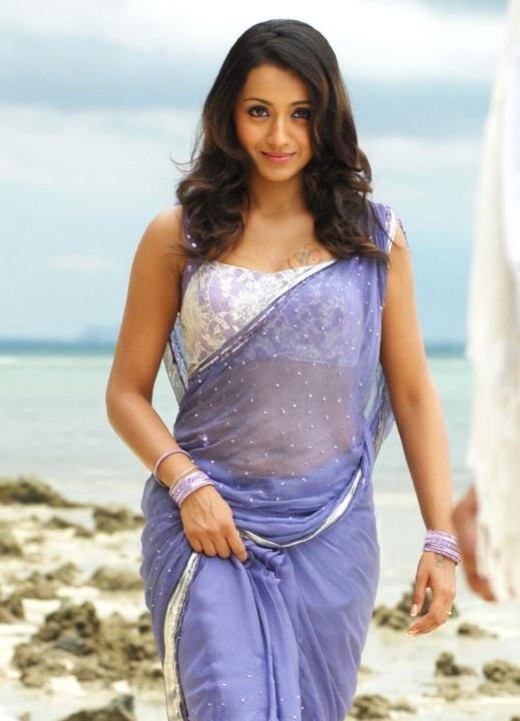 Trisha Latest Half Sarees