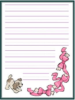custom writing paper for kindergarten