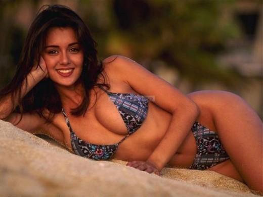 indian in bikini