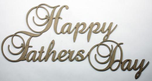 Dear Dad Happy Father's Day