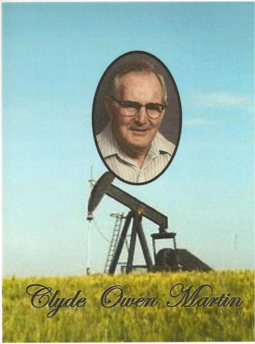 Clyde Martin - oil well pump jack