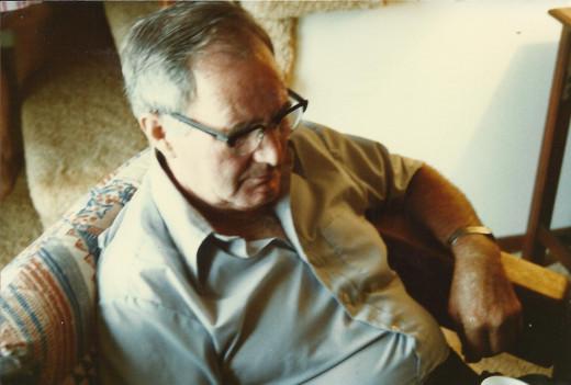 Clyde Martin reading.