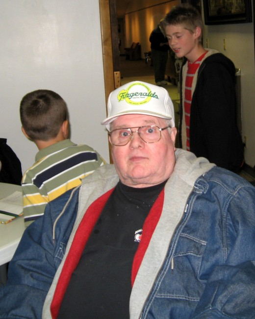 Owen Martin - October 2009 (at his mother's book signing party)