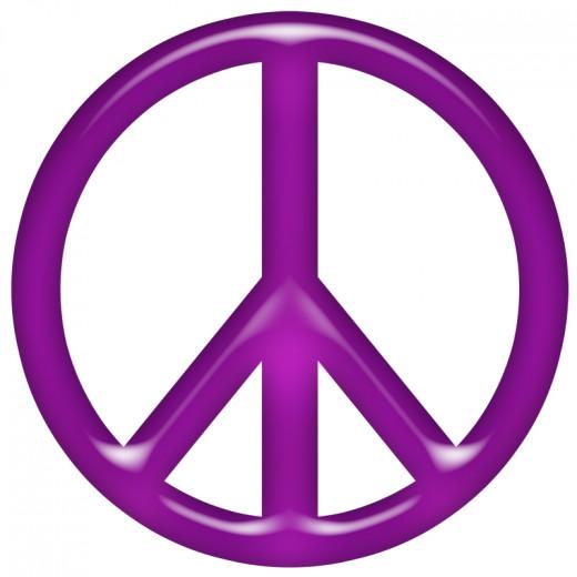 Peace Sign Clip Art Im...