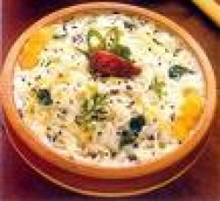 Vermicelli Curd Baath Recipe