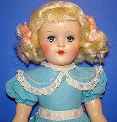 A beautiful 1950s Toni doll.
