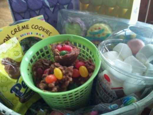 No bake cookies for Easter