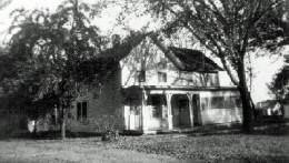 The Ren Martin home in Reading, KS in the 1950s