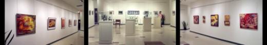 Gallery at Portage La Prairie Art Centre