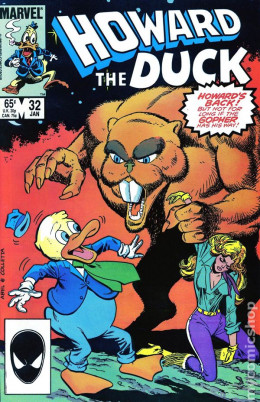 Howard The Duck was back in print. But without Gerber the book only lasted two issues.