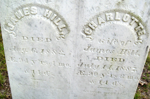 James and Charlotte Hill
