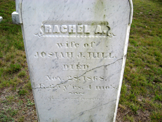 Rachel A. Hill (wife of Josiah)