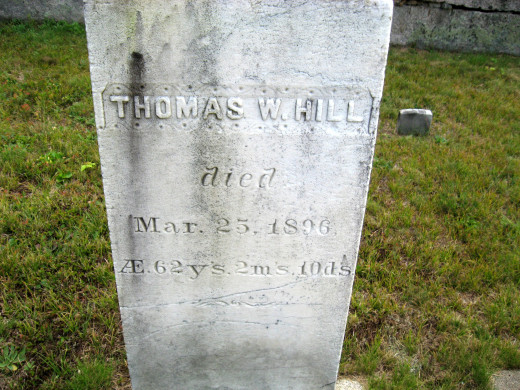 Thomas W. Hill (husband of Laura)