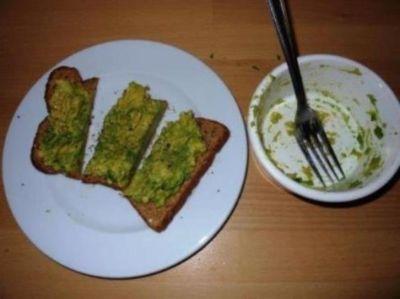 Avocado on toast by Barbs @ Synchronicity House