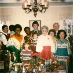 Family and friends, circa 1980
