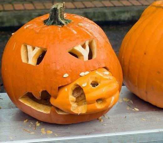 Feeding Pumpkins