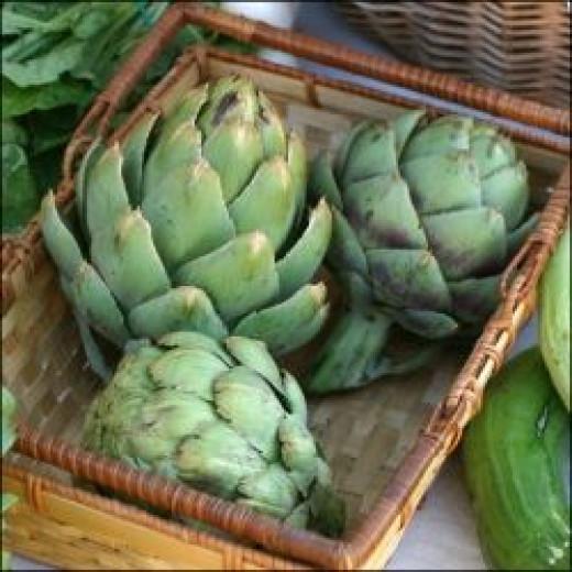 artichoke high protein