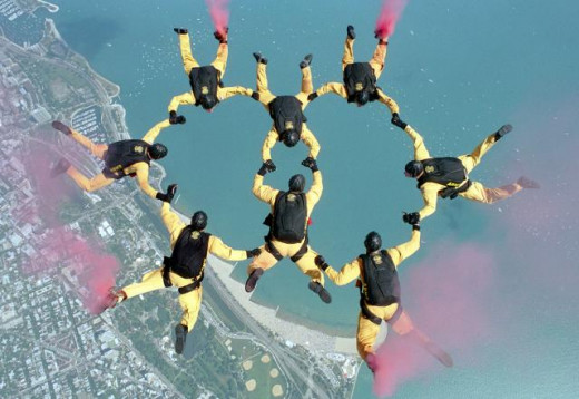 US Army Golden Knights (photo army.mil)