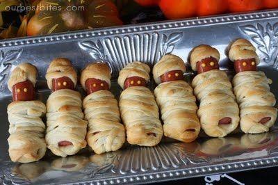 Halloween Food: Spooky Halloween Mummies