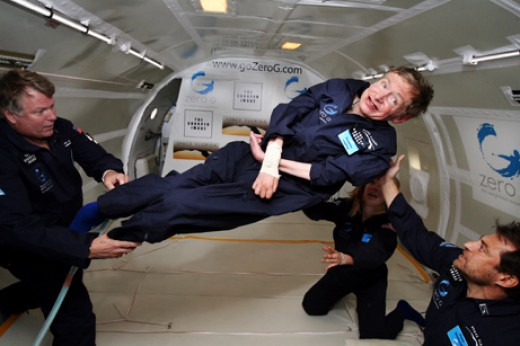 Stephen Hawking - Weightless