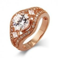 Stunning Rose Gold Rings