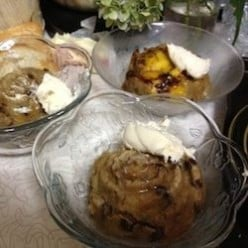 Regular Or No Sugar Added Cinnamon Vanilla Bread Pudding Recipe
