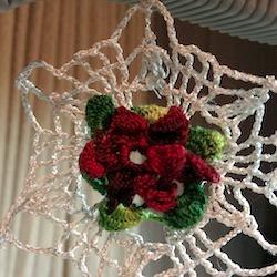 Winter Rose Snowflake