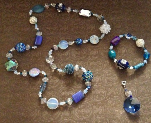 Blues - Features Opalite, Blue Lapis, Sodalite, Blue Topaz