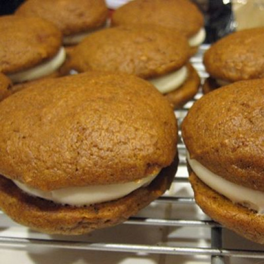 Pumpkin Whoopie Pies Recipe from the Owner of Maine's Famous Wicked ...