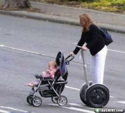 Just taking a ride with mommy