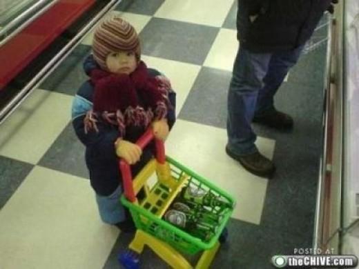 Shopper in training