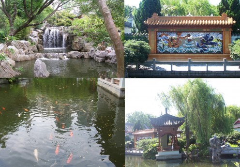 The Chinese Garden is just a few steps away from Chinatown, it offers a calm retreat in the midst of this bustling modern metropolis