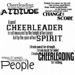 """Cheer's the Limit!"""