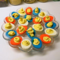 Patriotic Deviled Eggs Recipe