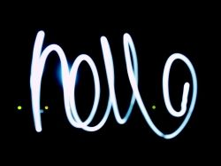 drawing with light photography