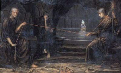 The Norns, John William Waterhouse