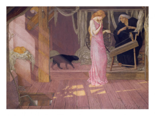 Sleeping Beauty, John D. Batten. Click on image to see at AllPosters.com
