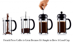 french press coffee easy to brew