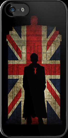 Tenth Doctor on a Union Jack