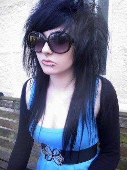 Cool Emo Hairstyles Pictures With Emo Hairstyle Girls Typically Nice Long Emo Hairstyle Pictures Gallery