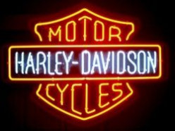 Harley Davidson Neon & Other Home Decor