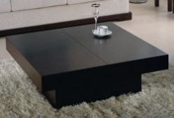 Black Square Coffee Tables
