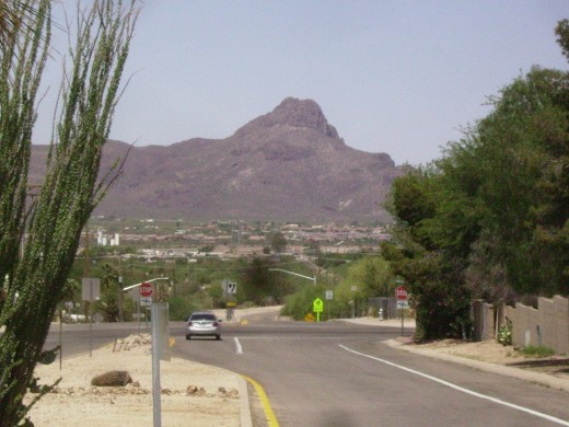 Tucson is Surrounded by Mountains