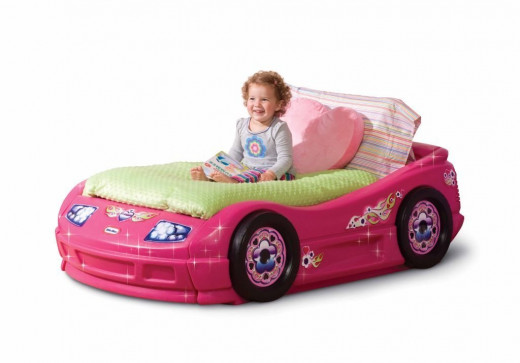 Pink Little Tikes Toddler Bed for Little Girls