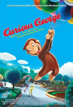 Curious George Wall Art Decoration