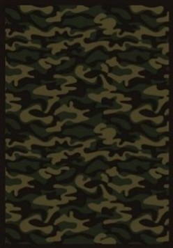 Camo Throw Rugs & Camouflage Area Rugs