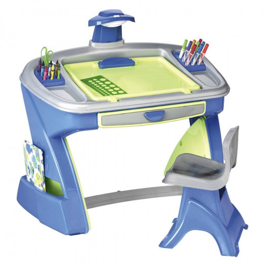 American Plastic Toys Creativity Desk and Easel 520 x 520
