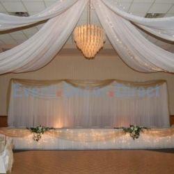 Wedding Reception Ceiling Decor Ideas