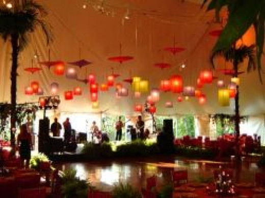Cheap Ceiling Decor for Wedding